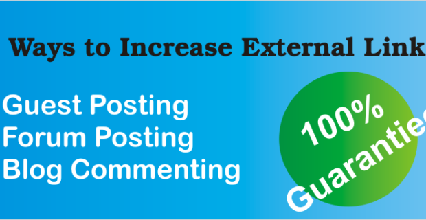 Poster image 3 Ways to Increase External Links