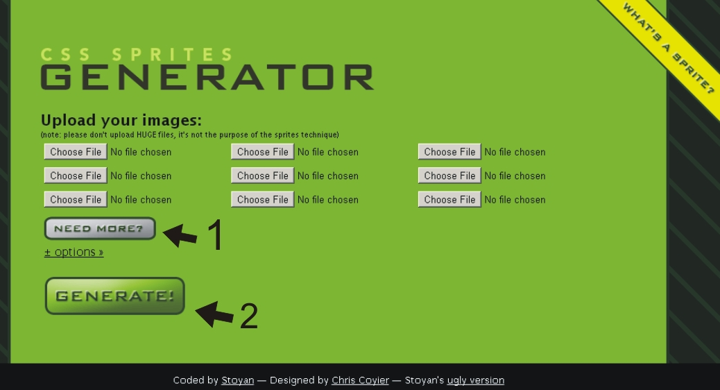 CSS Sprites Generator by Chris Coyier