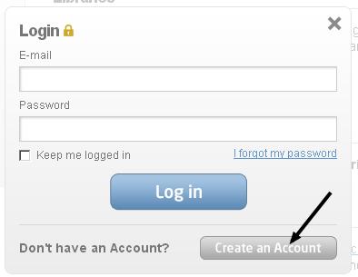 Register an account at Gtmetrix