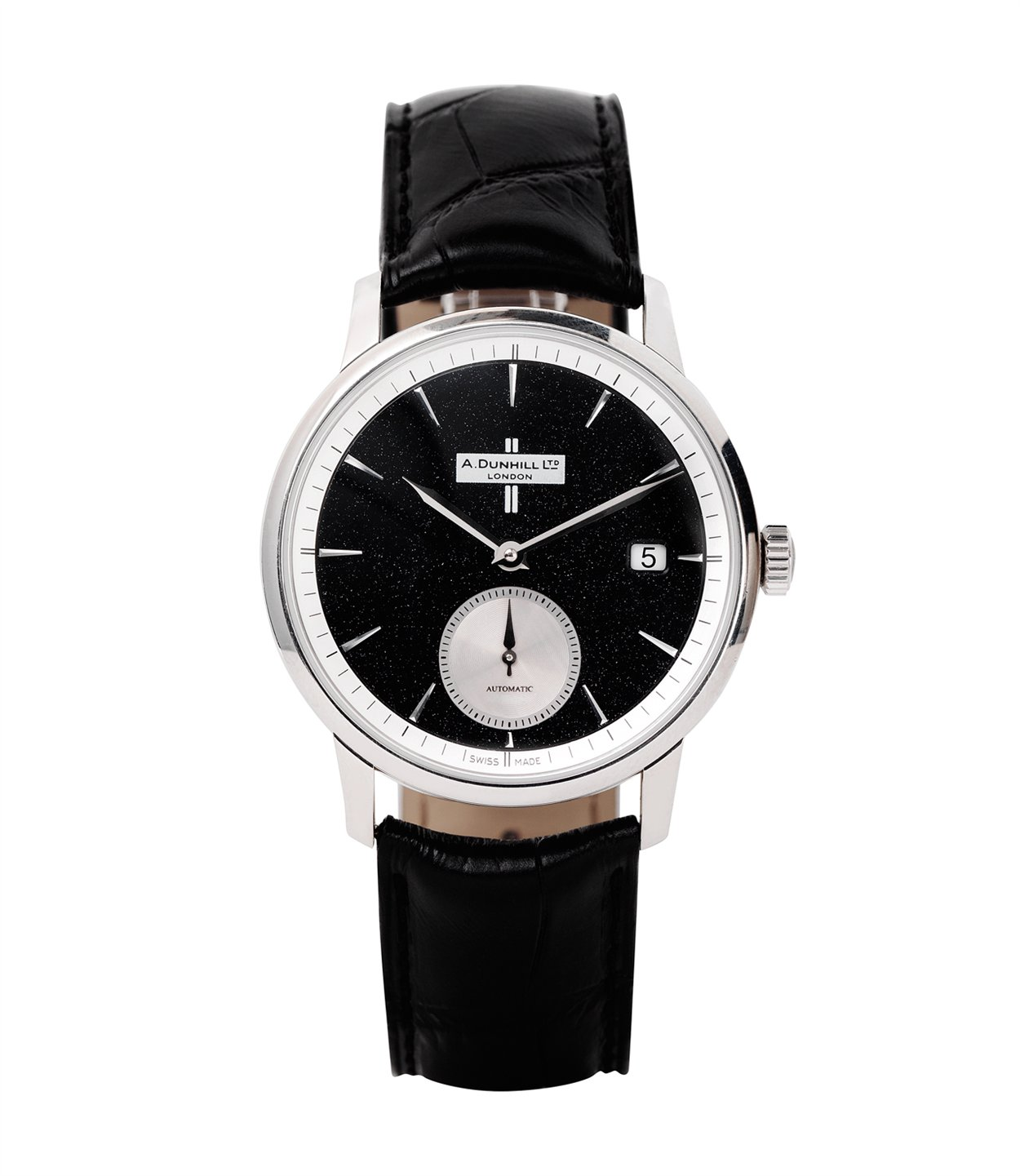 Dunhill Classic watch Crushed Black Diamond in Dial