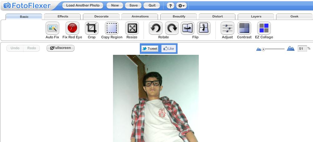 FotoFlexer Image Editor