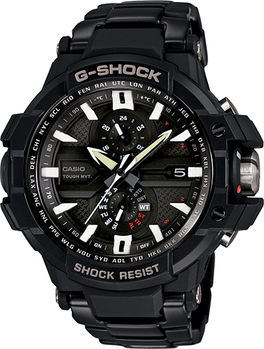 The official image GShock GWA1000D-1A Classic Watch