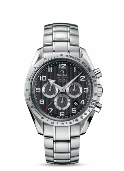 The official image by Omega Speedmaster Broad Arrow Watch